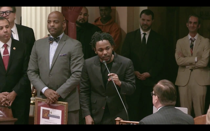 "Kendrick Lamar is the ""Generational Icon"" Award Recipient"