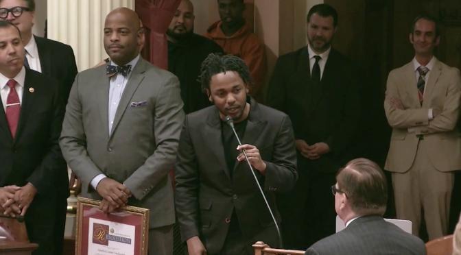 "Kendrick Lamar is the ""Generational Icon"" Award Recipient"