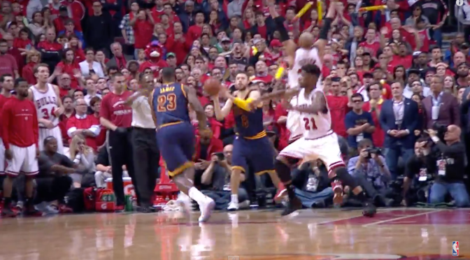 LeBron James Wins Game 4 with Buzzer Beater