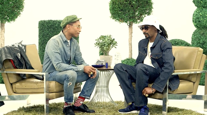 Snoop Dogg & Pharrell Williams discuss BUSH