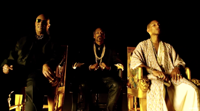 Snoop Dogg ft. Pharrell Williams & Stevie Wonder-California Roll (Official Video)