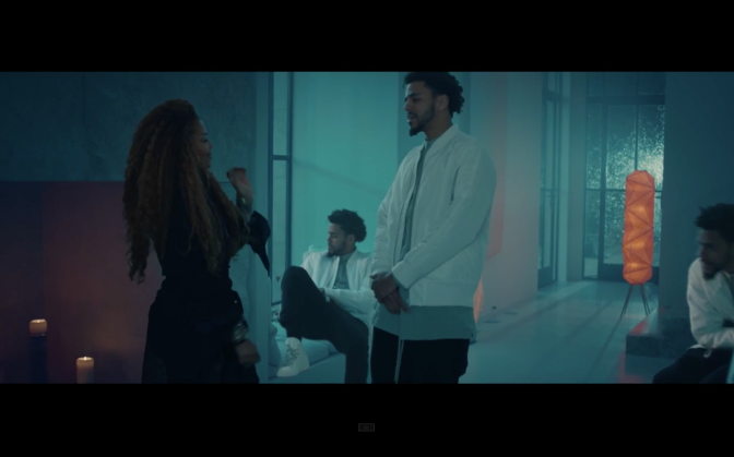 Janet Jackson ft. J. Cole-No Sleeep (Official Video)