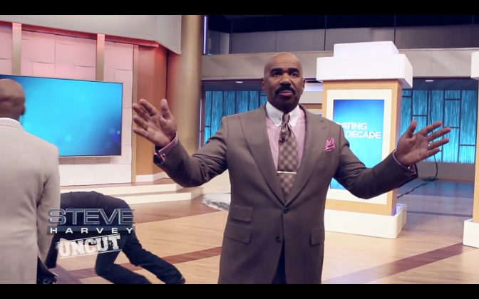 Steve Harvey Uncut: The DREAM is FREE, The HUSTLE is sold separately