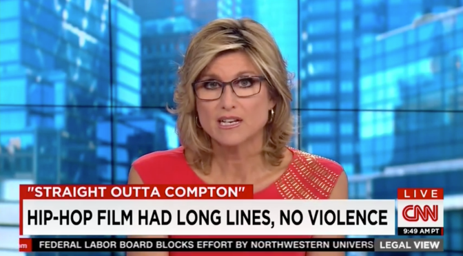 CNN Shocked To Learn 'Straight Outta Compton' Didn't Result In Mass Violence